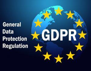 GDPR General Data Protection Regulation on 25 may 2018. GDPR Vector illustration
