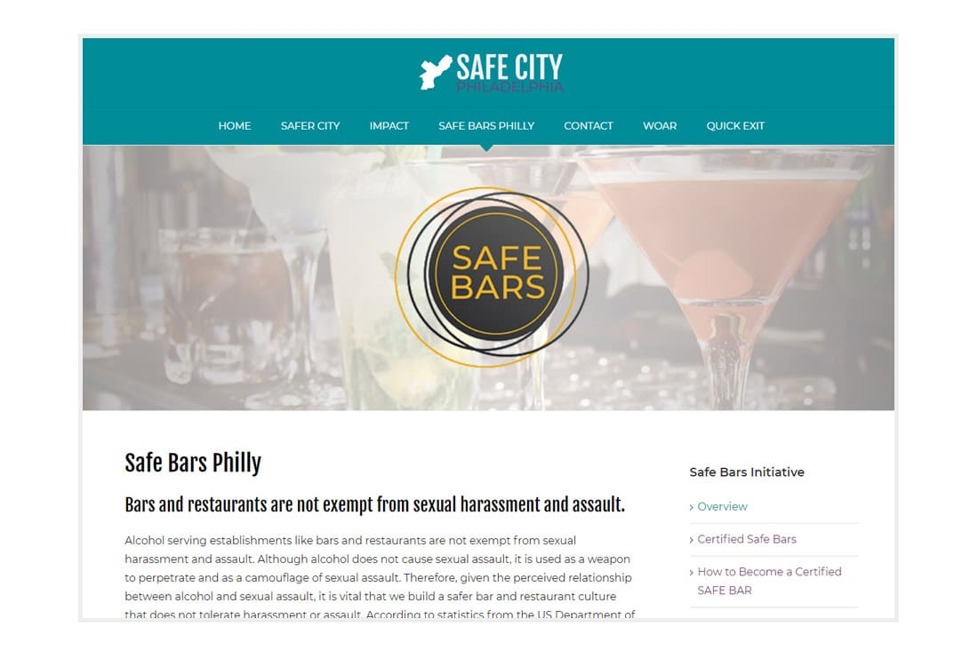 Safer City Philadelphia Safe Bars