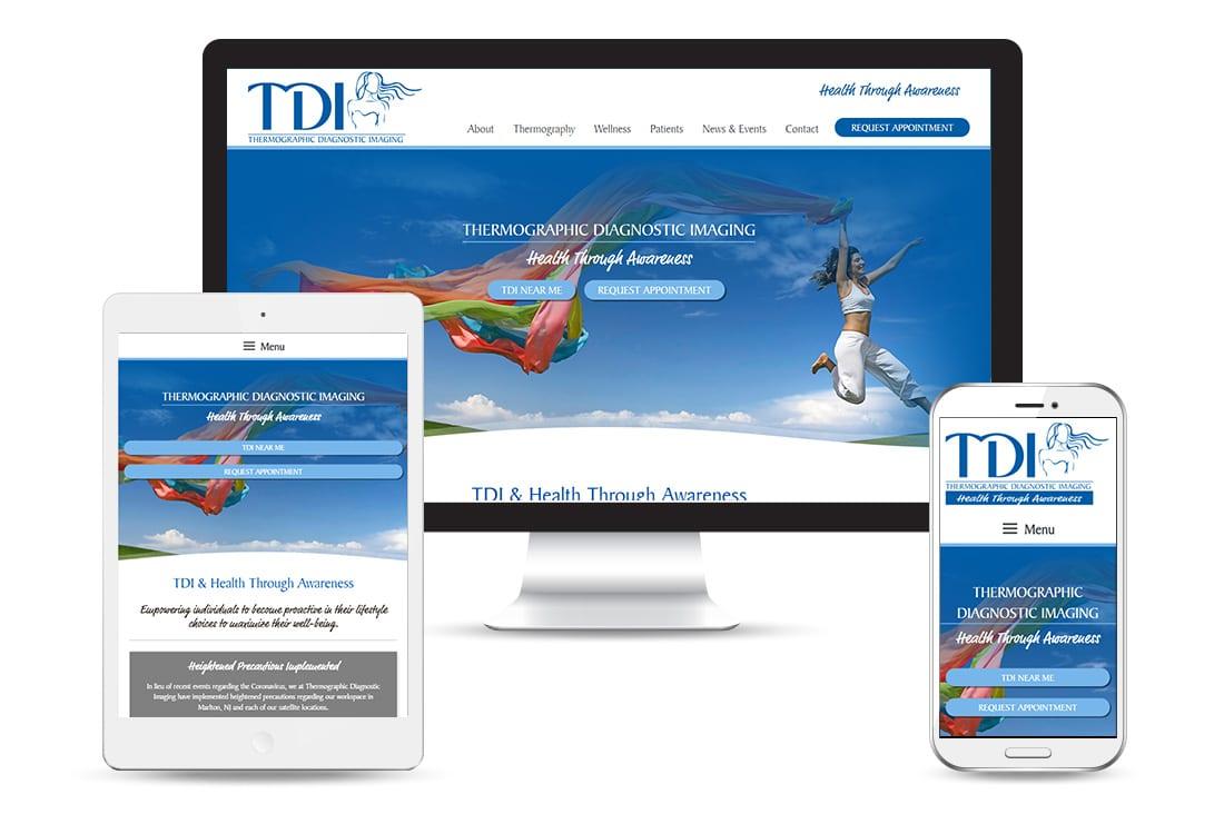 TDI & Health Through Awareness Website views