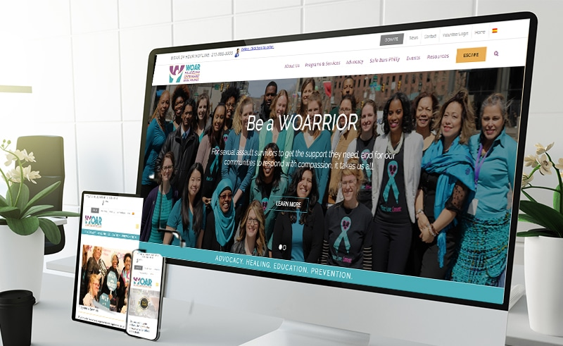 WOAR Launches New Website