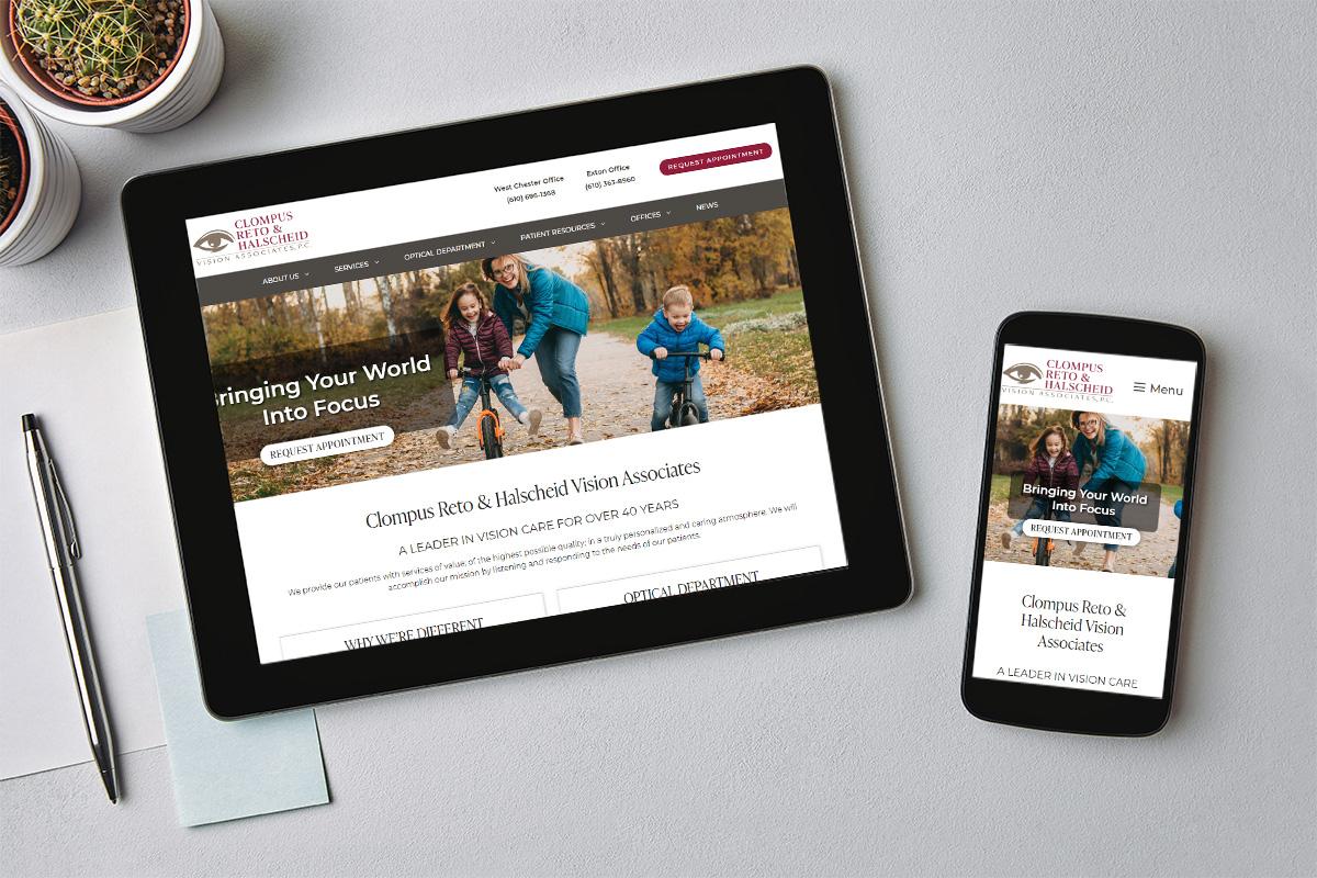 Clompus Reto & Halscheid Vision Associates Website