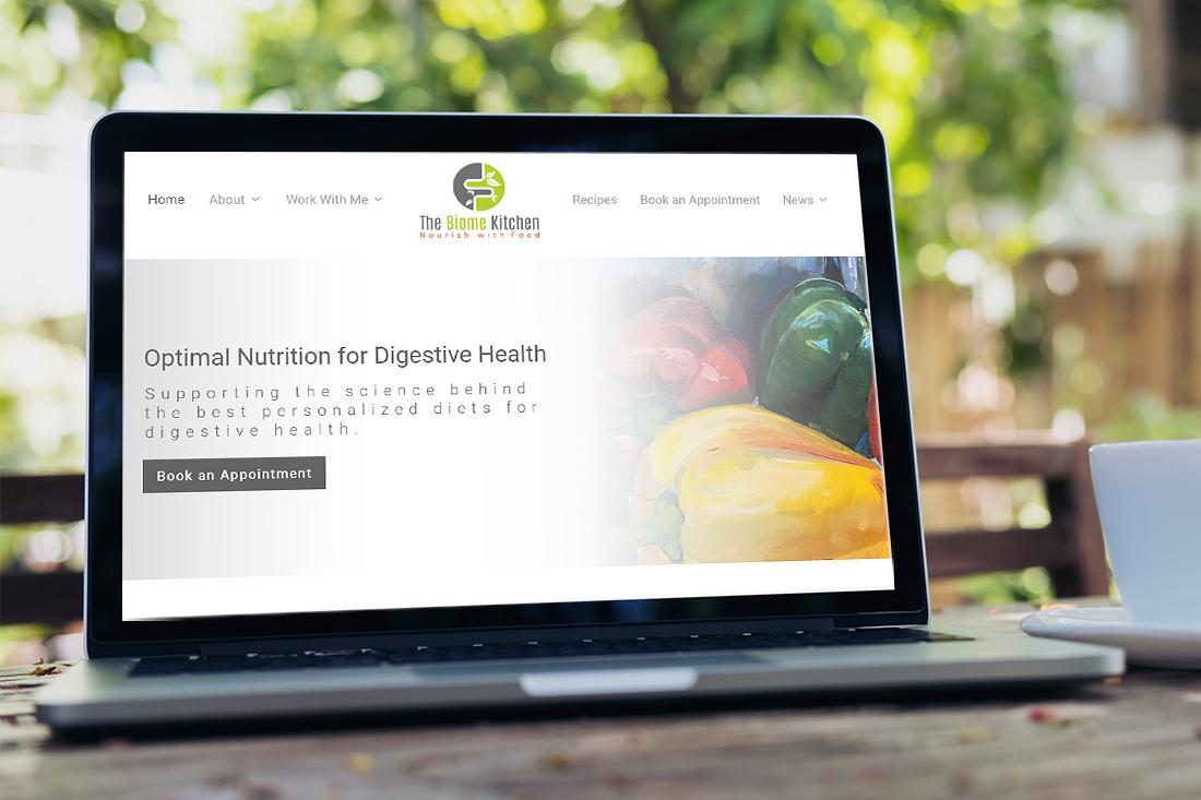 Biome Kitchen Custom Website