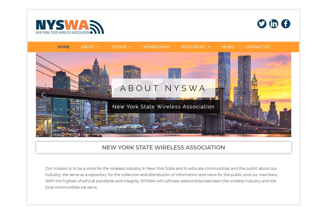 NYSWA homepage
