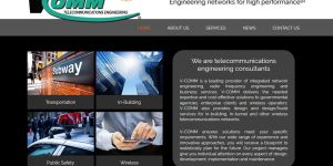 V-COMM Engineering New Website